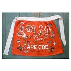 Cape Cod Mass Souvenir Apron