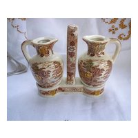 Nasco Mountain Woodland Cruet Set with Caddy