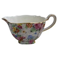 Lord Nelson Ware Marina Floral Chintz Creamer