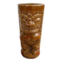 Orchids of Hawaii R-71 Honey Brown Ku Vintage Tiki Mug