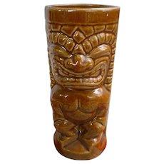 Orchids of Hawaii R-71 Honey Brown Ku Vintage Tiki Mug