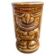 Orchids of Hawaii Sweet Leilani Brown Vintage Tiki Mug
