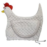 Cute Quilted Chicken Tea Cozy