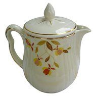 Hall Jewel Tea Autumn Leaf Coffee Pot with Lid