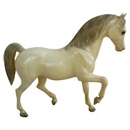 Vintage Alabaster Family Arabian Stallion Breyer Horse Mold # 7