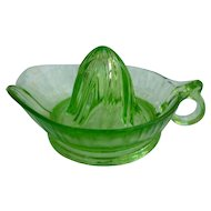 Jeannette Green Depression Glass Reamer