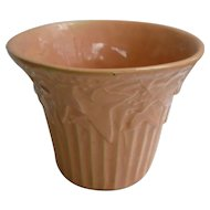 Large McCoy Pottery Coral Ivy and Berries Planter Flower Pot Jardiniere