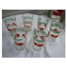 Tomato Juice Swanky Swigs Set of Six