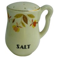 Hall Jewel Tea Autumn Leaf Salt Shaker