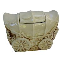 McCoy Covered Wagon Cookie Jar