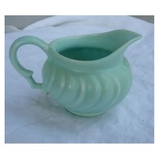 Franciscan Ware Coronado Turquoise Footed Creamer