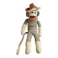 Vintage Hand Made Rockford Red Heel Sock Monkey Bruce