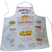 Vintage 50's Novelty BBQ Chef's Apron