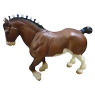 Vintage Highland Clydesdale Stallion Breyer Horse Mold # 80