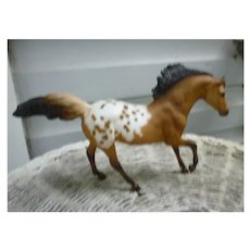 Breyer Classic Appaloosa Dun Andalusian Stallion #3060ST
