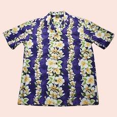 Royal Creations Hawaiian Aloha Surfer Shirt L