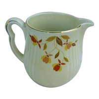Hall Jewel Tea Autumn Leaf Pitcher or Jug