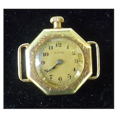 Ladies Elgin 14K Yellow Gold 15 Jewel Wind Watch