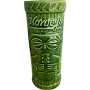 Vintage Green Harvey's Lake Tahoe Sneaky Tiki Mug OMC