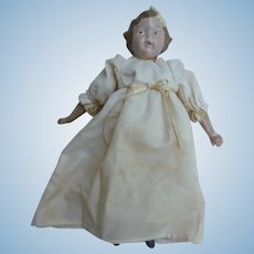 Miss Fannie Turgeon's Memories In Cloth Doll Ivy Signed Dated Donna Gilbert 1994