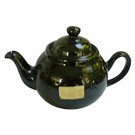 Older Ceracraft Brown Betty Cauldon England 2 Cup Personal Size Teapot