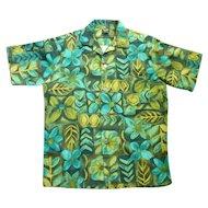 Groovy Hawaiian Holiday Vintage 1960's Hawaii Aloha Surfer Shirt