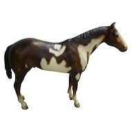 Vintage Overo Paint Breyer  Horse Mold # 66