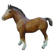 Vintage Clydesdale Foal Breyer Horse Mold # 84