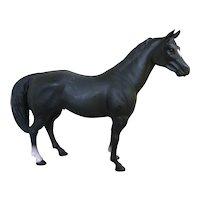 Blue Ribbon Ranch Black Plastic Model Horse
