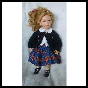 """Lovely 17"""" Samantha Doll by Julie Good-Kruger"""