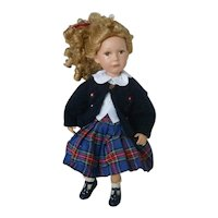 "Lovely 17"" Samantha Doll by Julie Good-Kruger"