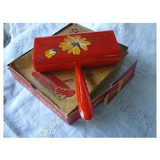 Clean Sweep Red Plastic Crumb Sweeper in Box