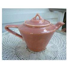 Vintage 1950s Rose Harlequin Tea Pot