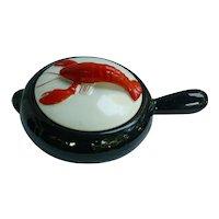 Shawnee Kenwood Lobster Ware 2 qt Black French Casserole # 904