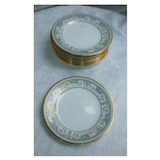 Noritake Polonaise Bread and Butter Plates Set of 8