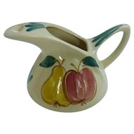 Large Purinton Pear Apple Pitcher Jug