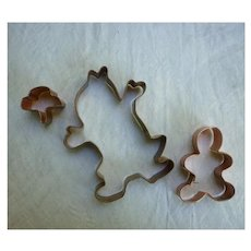 Spooky Ghosts and Goblin Copper Cookie Cutters