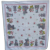 Old Fashioned Kitchen Stoves and Flowers Print Vintage Tablecloth