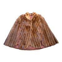 Marvelous Mink Cape Millers Furs DC
