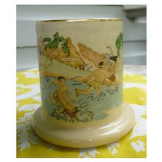 Vintage Risque Kane Wahine Honi Honi Tiki Mug Trader Vic's 1963
