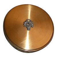 Margaret Rose England Powder Compact