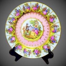 Vintage Bavaria Cake Plate Charger