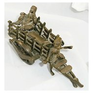 "Miniature ""Suttee"" Figure of Ritual Cremation"