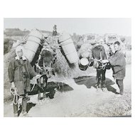 Early photo Series of Japanese Farmers .