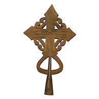 Coptic Processional Cross