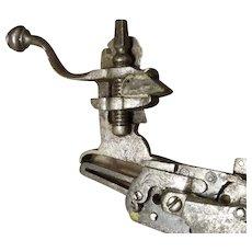 Wheel Lock Mechanism C. 1600