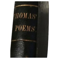 Poems, moral and saterical, by Joseph Thomas The Pilgrim. Printed by the Western Star. 1829.