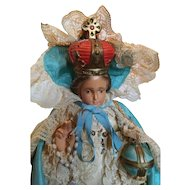 Infant of Prague. Votive Statue.