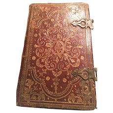 Latin Prayer Book 1752