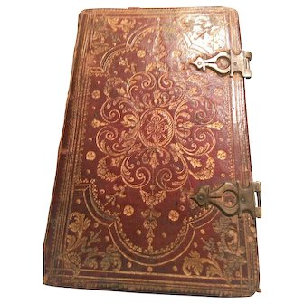 Latin Prayer Book 1752